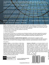 Load image into Gallery viewer, Real Estate Investment; A Capital Market Approach