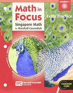 Math In Focus: Singapore Math: Extra Practice, Book B Course 1