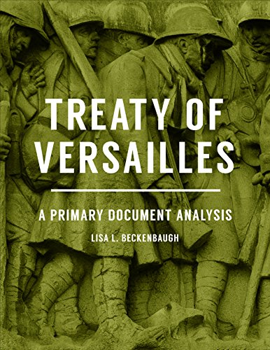 Treaty Of Versailles: A Primary Document Analysis