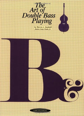 The Art Of Double Bass Playing (The Art Of Series)