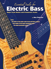 Load image into Gallery viewer, Essential Scales For Electric Bass: Major Scale Modes And Pentatonic Scales
