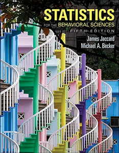 Statistics For The Behavioral Sciences (Psy 471 Applied Behavioral Analysis And Remediation)