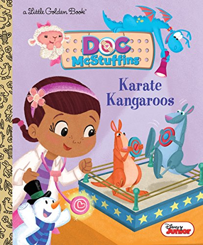 Karate Kangaroos (Disney Junior: Doc Mcstuffins) (Little Golden Book)
