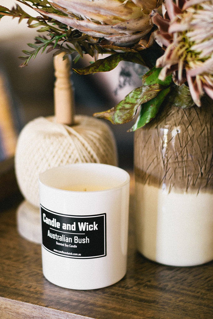 Candle and Wick Scented Soy Candles