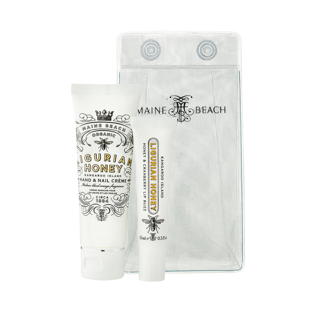 Maine Beach Essential Duo pack Lip Lustre / Hand & Nail creme