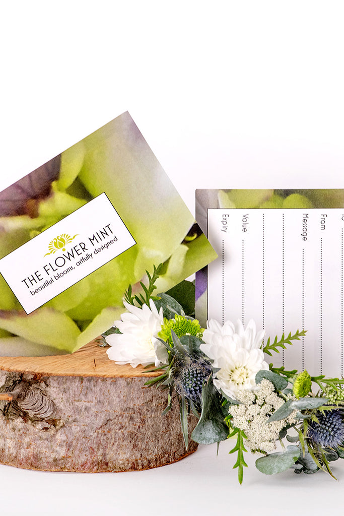 The Flower Mint Gift Voucher