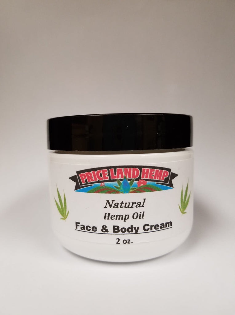 PriceLand Hemp 2oz Face & Body Cream