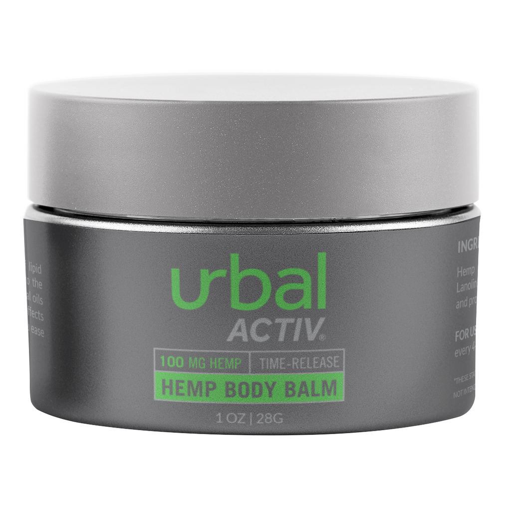 Urbal Activ 1 oz CBD Body Balm - 100 MG/Container