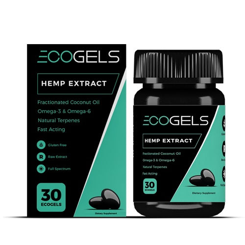 CBD Drip 30 ct. Ecogels - 750 MG/Bottle