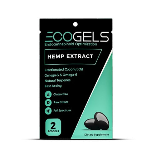 CBD Drip 2 ct. Ecogels Travel Pack - 50 MG/Pack