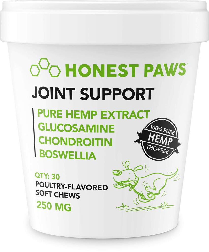 Honest Paws 30ct Joint Support Soft Chews 250mg