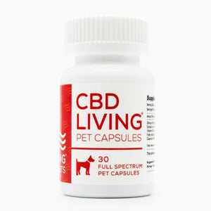 CBD Living Pet Gel Capsules - 30 ct. - 750 MG/Bottle