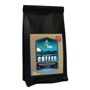 SteepFuze 3 oz. CBD Coffee - Decaffinated - 90 MG/bag