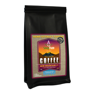 SteepFuze 3 oz. CBD Coffee - New Mountain - 90 MG/Bag