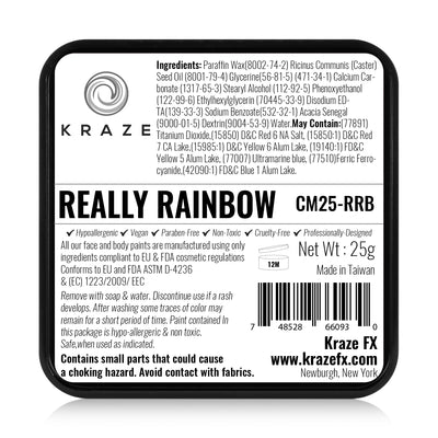 Kraze FX Split Cake - 25 gm - Really Rainbow