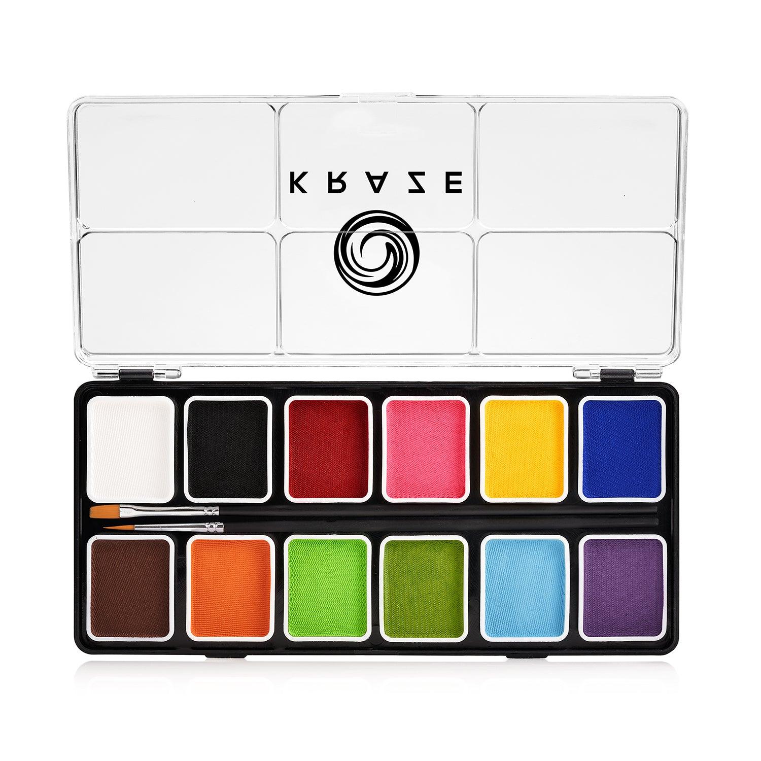 Kraze FX Paint Palette - Fundamentals (12 x 6 gm)