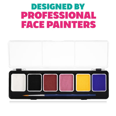 Kraze FX Paint Palette - Fundamentals (6 x 6 gm)