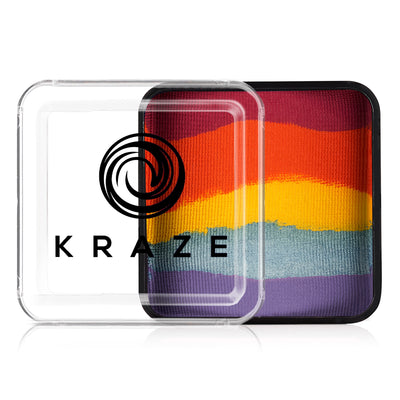Kraze FX Domed Split Cake - 25 gm - Girly Girl Rainbow
