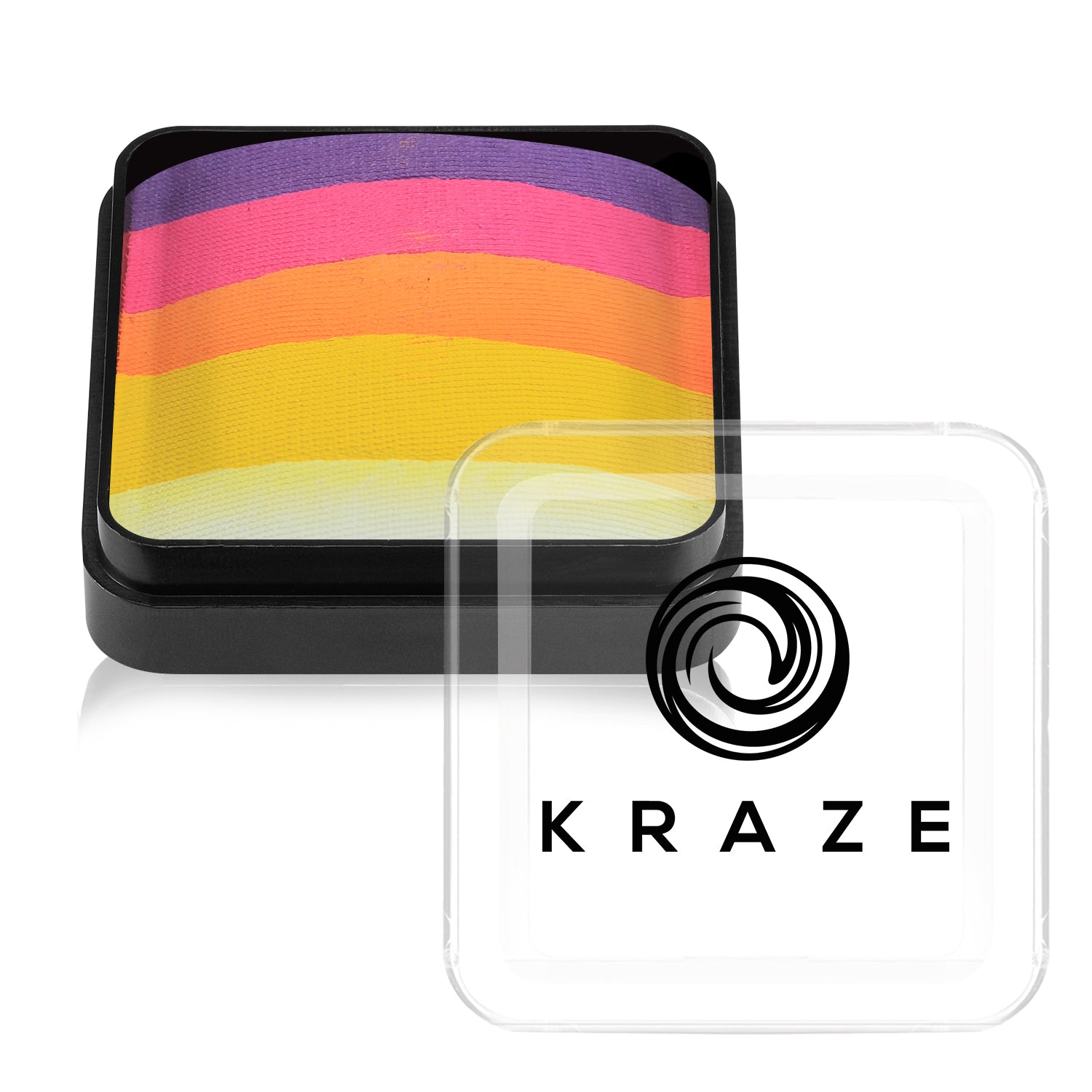 Kraze Neon Dome Cake - 25 gm - Hawaiian Sunrise