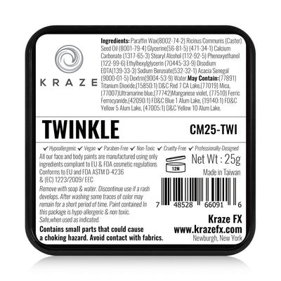 Kraze FX Domed Split Cake - 25 gm - Twinkle