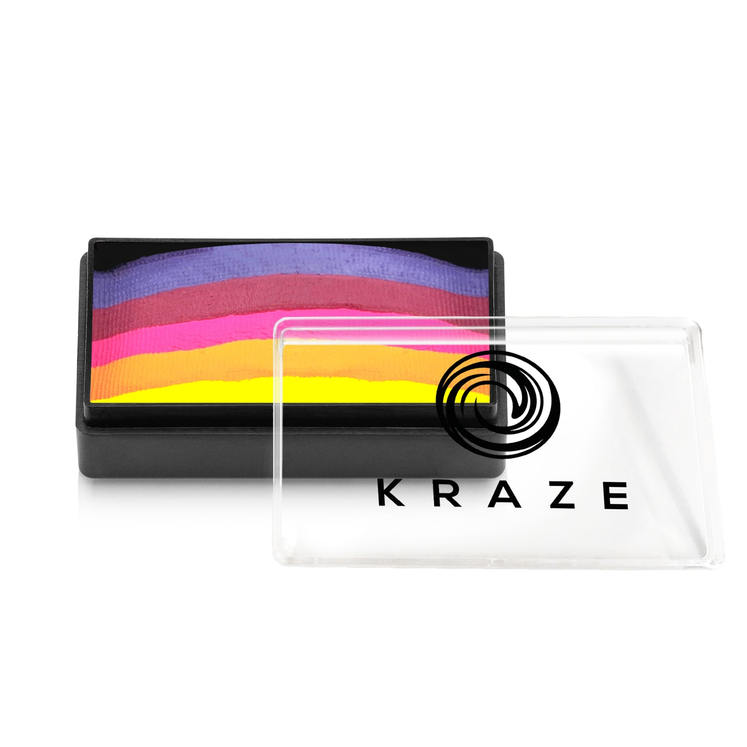 Kraze FX Domed 1-Stroke Neon Split Cake - 25 gm - Royal Sunset