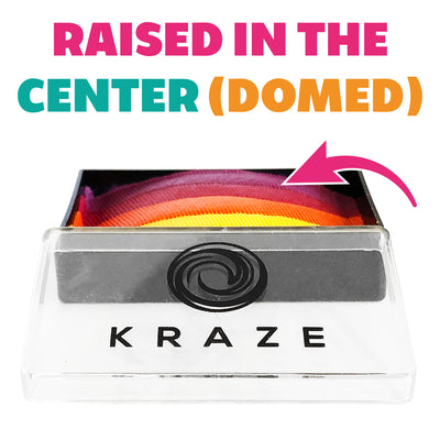 Kraze FX Domed 1-Stroke Pearl Split Cake - 25 gm - Unicorn Shimmer
