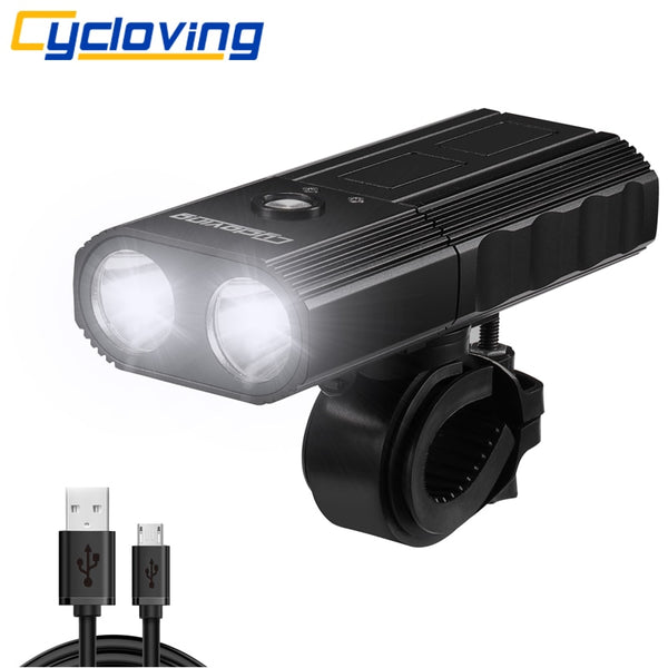 Two In One Power Bank and Bicycle Light