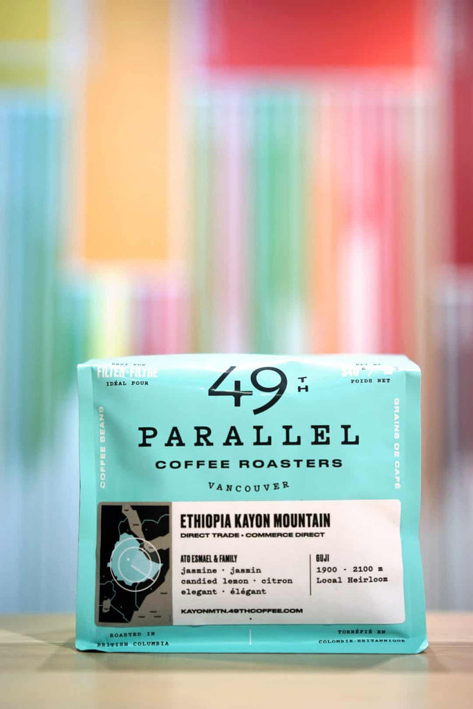 49th Parallel Coffee Roasters in the Fellow Playground