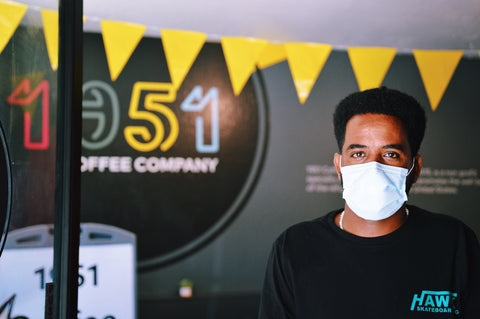 Barista at 1951 Coffee