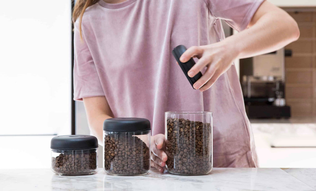 Atmos Vacuum Canister Coffee Storage