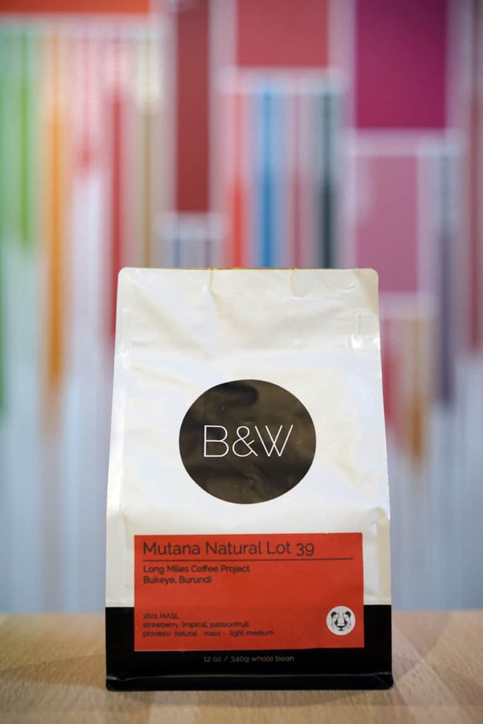 Black and White Coffee Roasters Fellow Featured Roasters