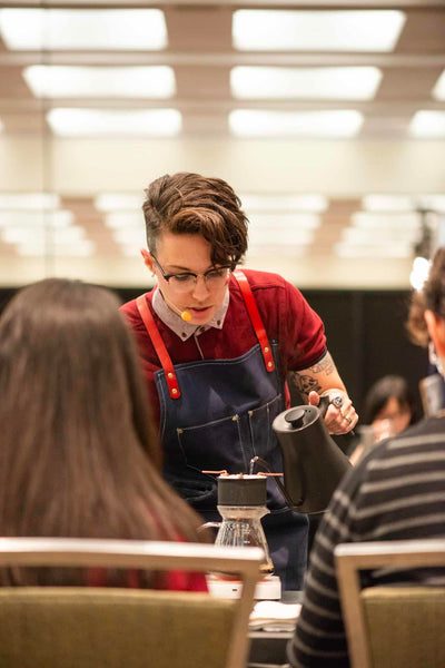 Blair Smith Brewers Cup Competitor