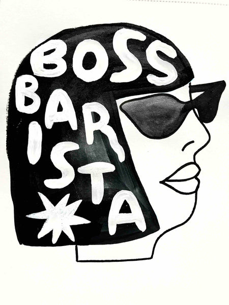 Boss Barista Podcast Logo