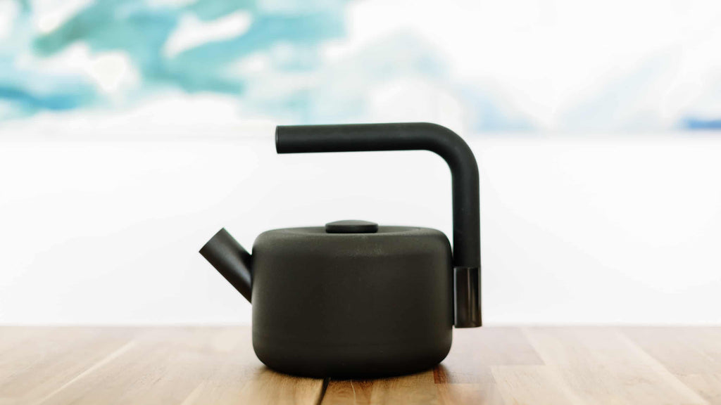 Clyde Stovetop Whistling Tea Kettle Fellow