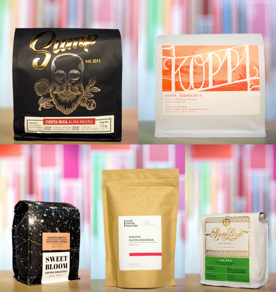 December 2018 featured roasters