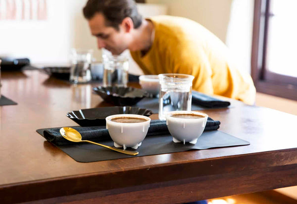 How to assess the aroma of coffee during cuppings