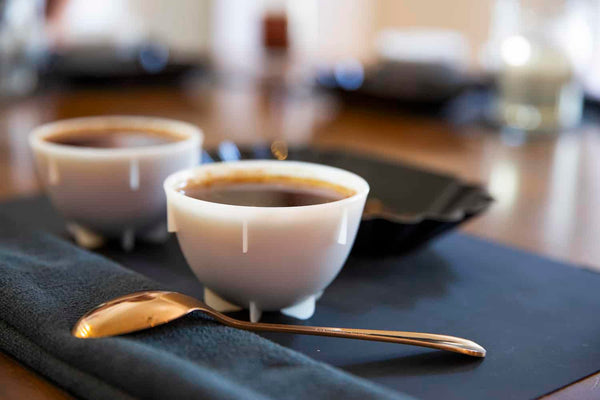 How to slurp coffee for cuppings