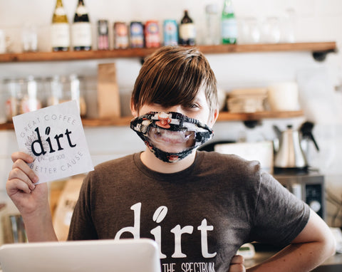 Barista at Dirt Coffee