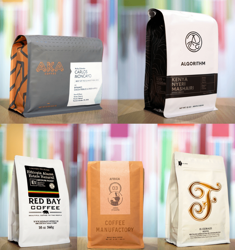 November 2018 featured roasters