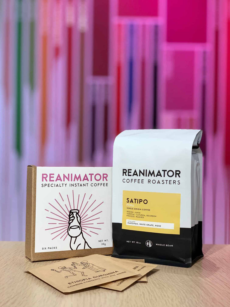 ReAnimator Coffee and Swift Cup Fellow Featured Roasters
