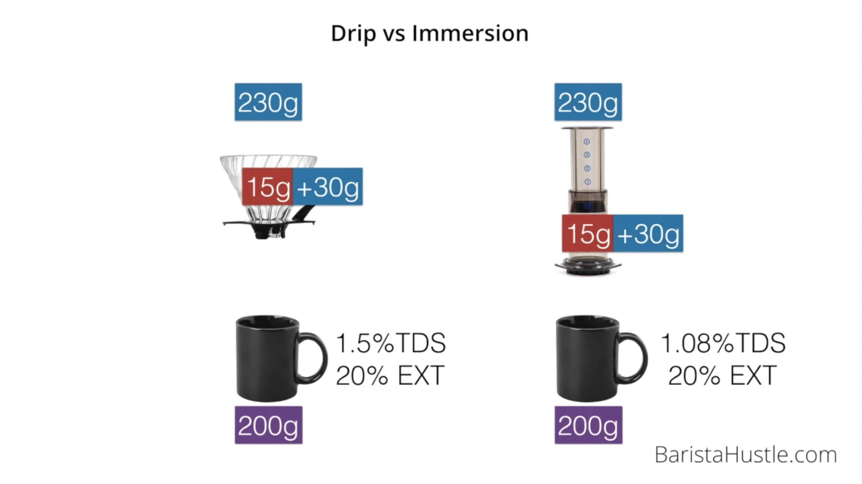 Drip vs Immersion Coffee