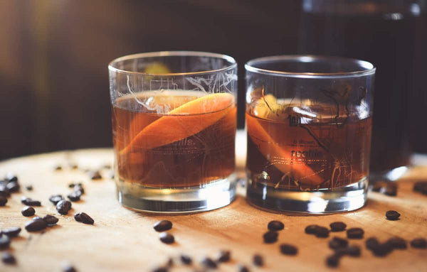 Spiced Coffee Old Fashioned