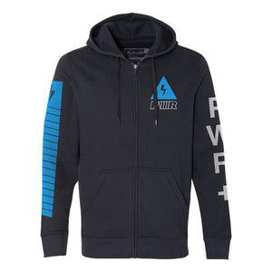 Blue Charge Zip Up