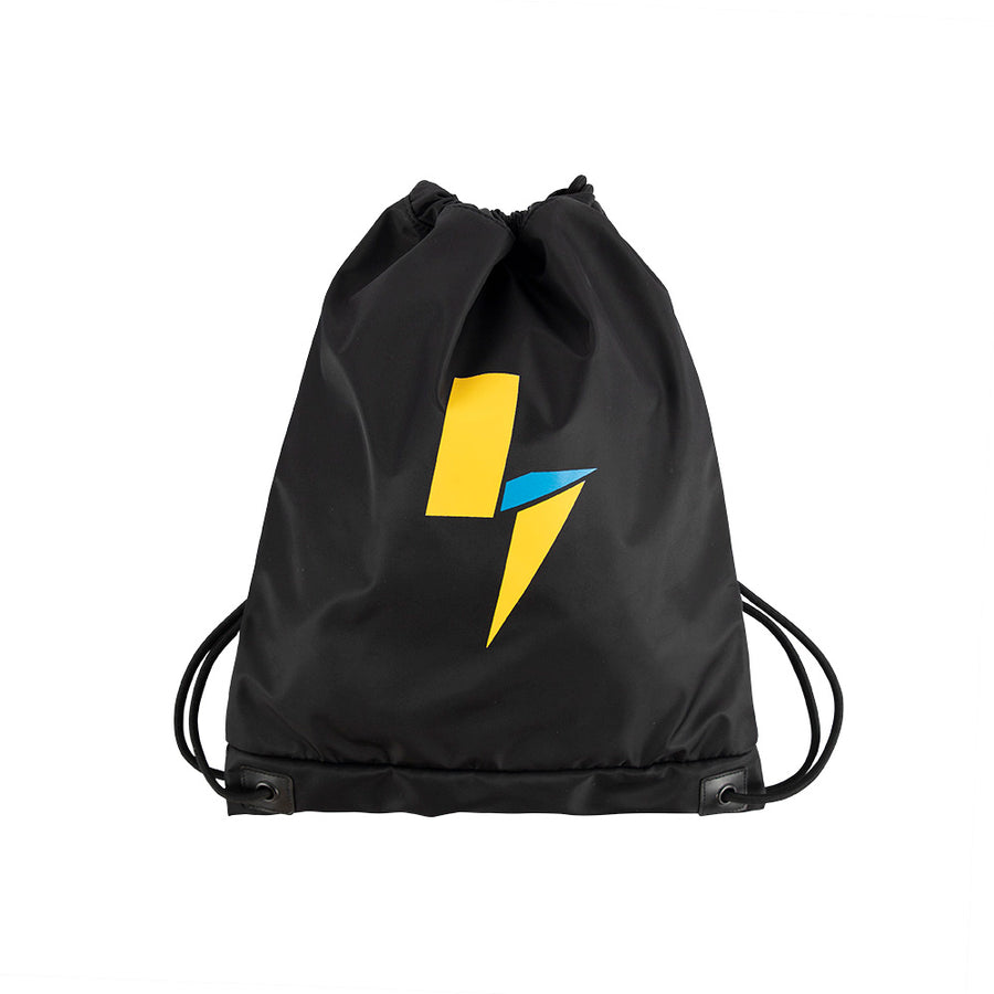 Power Bolt Drawstring Bag