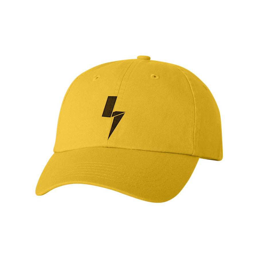 Yellow Bolt Hat