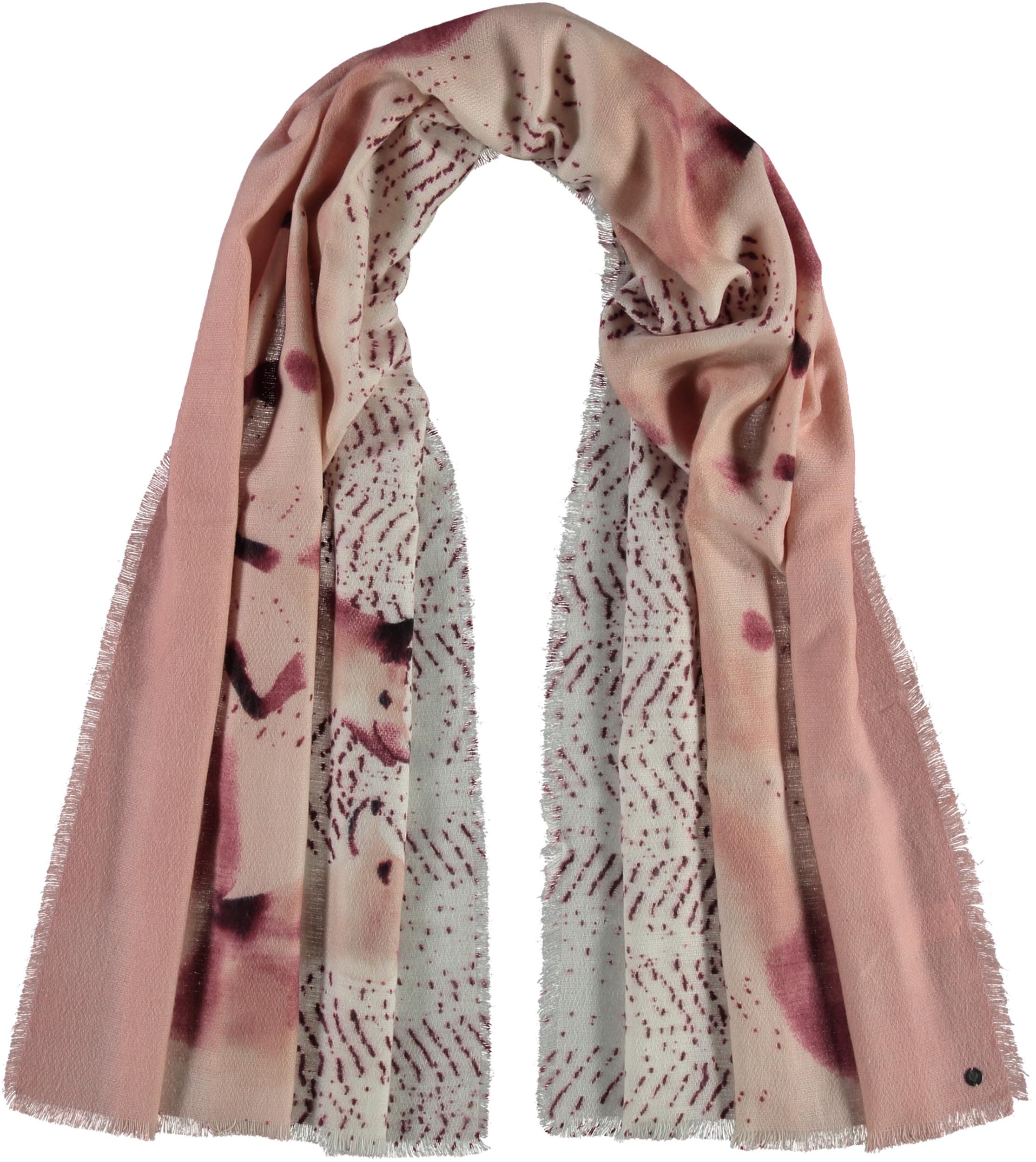 Sly Fox Printed Acrylic Wrap Scarf