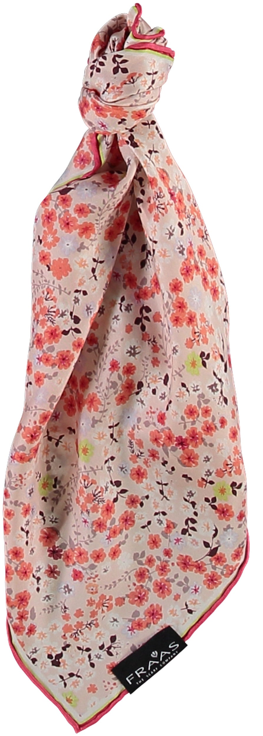 Ditzy Floral Silk Square Printed Neckie