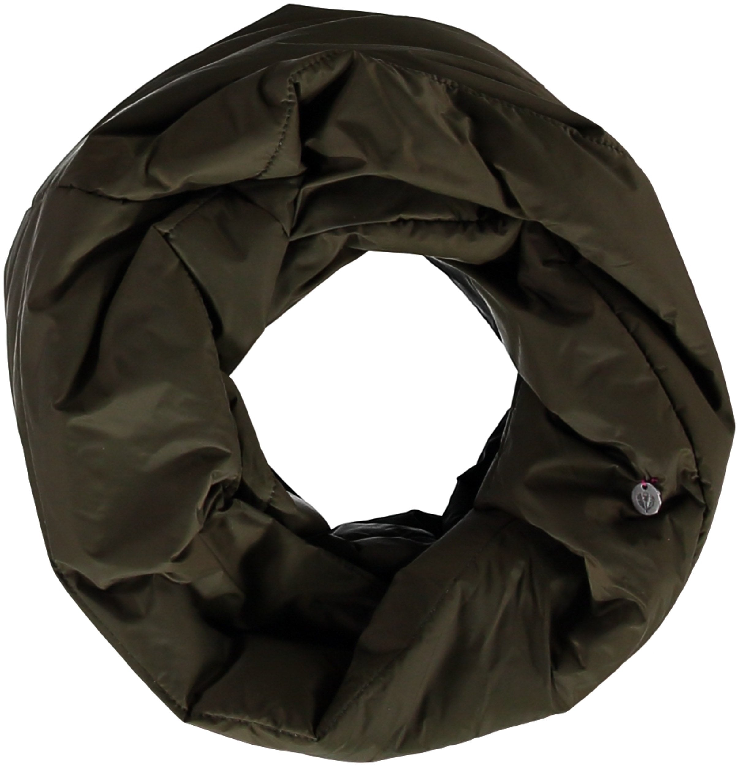 Puffa Snood Solid Color Polyfil Infinity-scarf