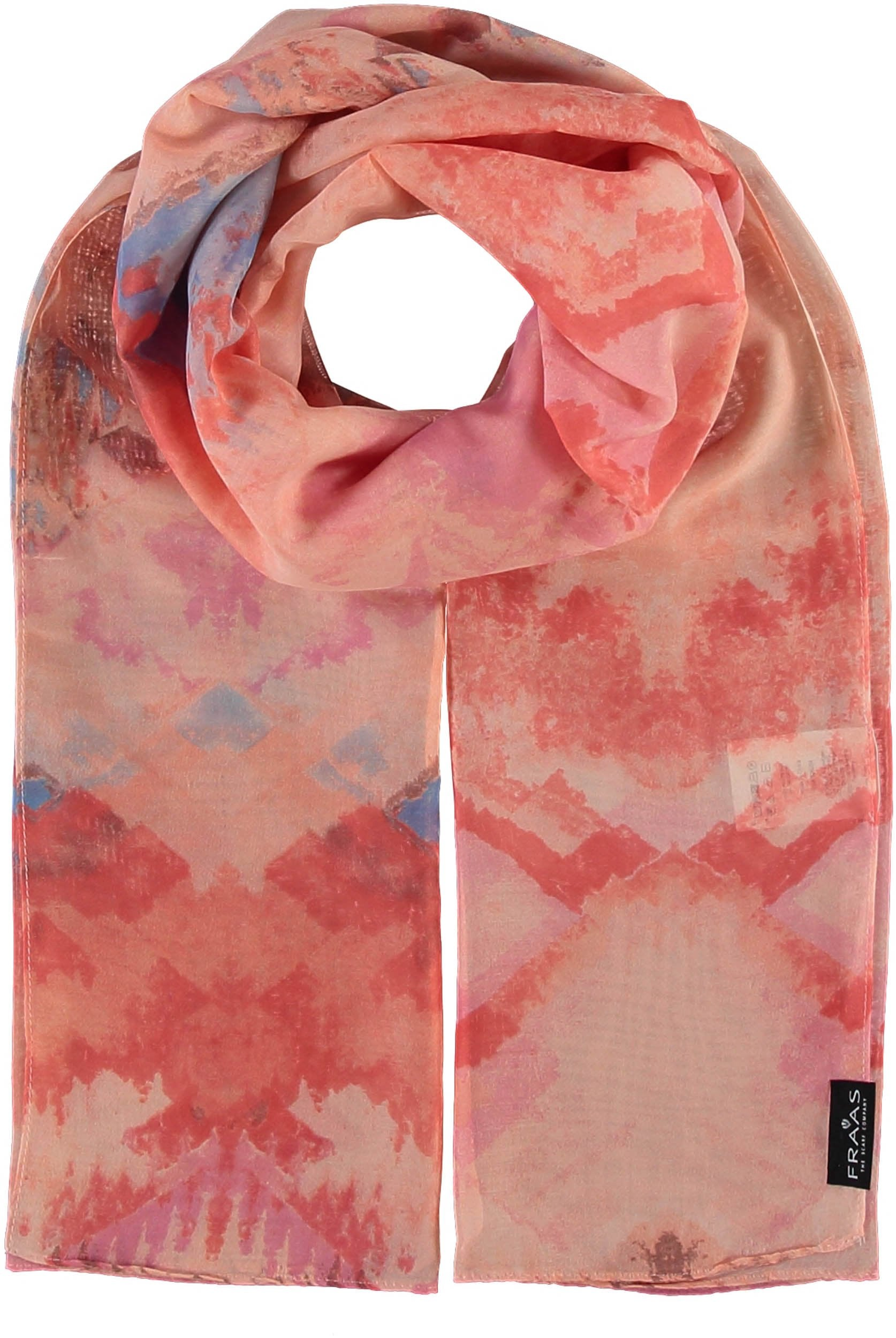 Watermark Polyester Printed Scarf