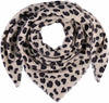 Animal Luv Printed Oversized Woven Square